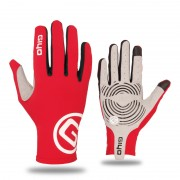 GIYO-S-02-L Touch Screen Cycling Gloves Breathable Windproof Full Finger Gloves - Red / Size: S