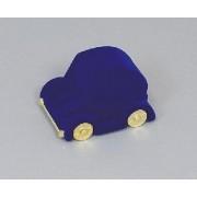 Sametova krabicka na sperky - modre auticko