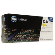 HP 124A Yellow LaserJet Toner Cartridge (Yellow)