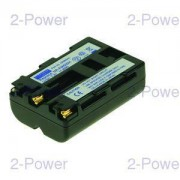 2-Power Digitalkamera Batteri Sony 7.2v 1500mAh (NP-FM500H)