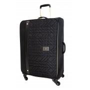 Dune London Tamara 78cm 4-Wheel Suitcase - Black