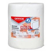 Prosop rola bucatarie, alb, 60m, 2 straturi, Office Products