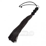 Sex si Mischief Small Rubber Whip - Black