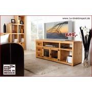1a Direktimport TV-Tisch, Lowboard, TV-Kommode MEXICO, Pinie massiv, Mexican Style Möbel