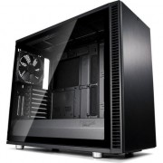 Carcasa Fractal Design Define S2 Blackout Tempered Glass, ATX Mid Tower, fara sursa, Negru