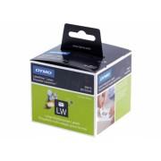 Dymo LabelWriter DY11352 etikett címke, 54x25mm, fehér, címek