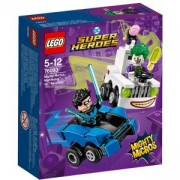 Конструктор ЛЕГО СУПЕР ХИРОУС Mighty Micros: Nightwing vs. The Joker - LEGO DC Comics Super Heroes, 76093