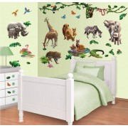 Walltastic Jungle Adventure Muurstickers (Walltastic)
