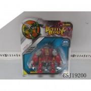 Battle Beast pufi robot szörny