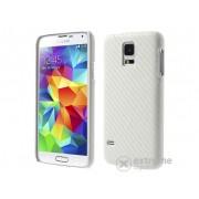 Husă din plastic Gigapack pentru Samsung Galaxy S V. (SM-G900) alb (conform producătorului)