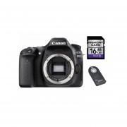 Camara Reflex Canon Eos 80d Solo Cuerpo + Sd 16gb + Control - Negro