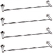 Doyours 24 Inch Glossy Towel Bar in Stainless Steel - 4 Pcs