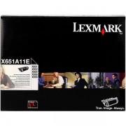 Lexmark X651A11E toner negro retornable