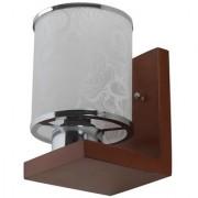 LeArc Designer Lighting Contemporary Glass Metal Wood Wall Light WL2145