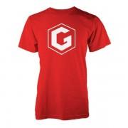 Grian Camiseta Grian - Hombre - Rojo - M