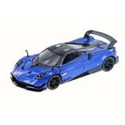 Kinsmart 2016 Pagani Huayra BC, Blue - 5400D 1/38 Scale Diecast Model Toy Car