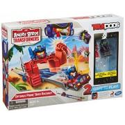 Angry Birds Transformers Telepods Optimus Prime Bird Raceway