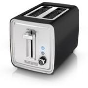 Black & Decker 1Q3M2F8P5PML 500 W Pop Up Toaster(Black)