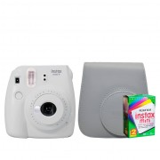 Starterskit - Fuji Instax Mini 9 Smokey White