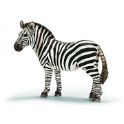 Schleich Zebra. Female, Multi Color