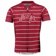 Maloja - Kid's CarlottaG.1/2 - Maillot vélo taille M, rouge/rose