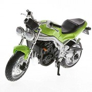 Maisto Triumph Speed Triple 1/18 Diecast Bike Model (39300, Green)