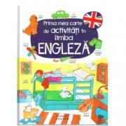 Prima mea carte de activitati in limba engleza