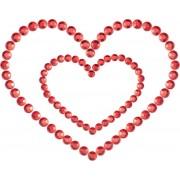 Bijoux Indiscrets Copricapezzoli Bijoux Indiscrets Mimi Heart Rosso