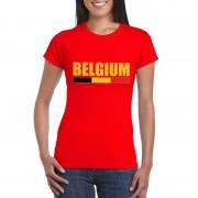 Bellatio Decorations Rood Belgium supporter shirt dames