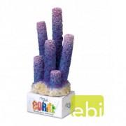 EBI AQUA DELLA CORAL MODULE L stove pipe sponges purple 8,5x7,5x19,5cm