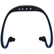 SH-W3 Life Waterproof Sweatproof Stereo Wireless Sports Bluetooth Earbud Earphone In-ear Headphone Headset with Micro SD / TF Card Slot & Charging Cable for Smart Phones & iPad & Laptop & Notebook & MP3 or Other Bluetooth Audio Devices Maximum SD Card St