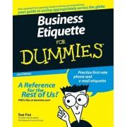 Business Etiquette for Dummies, Paperback
