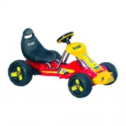 Lil Rider Battery-Powered Red Racer Go-Kart, Red