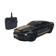 XQ TOYS 1:18 Licensed Shelby Mustang Gt500 Super Snake Electric Rtr Remote Control Rc Car (Black)