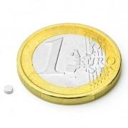 Magnet neodim disc, diametru 2 mm, putere 130 g