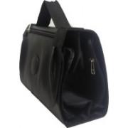 Essart Tri fold Travel Toiletry Kit Travel Toiletry Kit(Black)