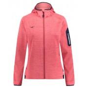 Kaikkialla Tuire powerstretch - giacca in pile con cappuccio - donna - Red
