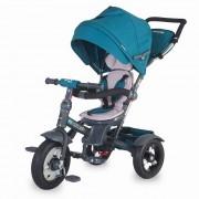 Tricicleta COCCOLLE Giro Plus multifuntionala albastru 337010630