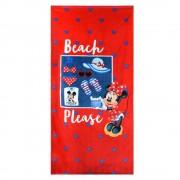 Prosop plaja fetite Minnie multicolor 70x140