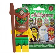 Lego (LEGO) Mini Figure Figure 11 Polynesian Warrior Unopened Item (LEGO Minifigure Series 11 Island Warrior) 71002-5