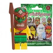 Lego (LEGO) Mini Figure Figure 11 Polynesian Warrior Unopened Item (LEGO Minifigure Series 11 Island Warrior) 71002-5