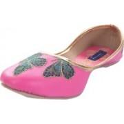 Tamanna butterfly Bellies For Women(Pink)