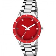 KDS LR505-CH Elite Red Dail Watch - For Girls