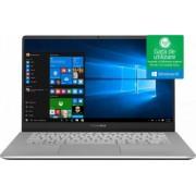 Ultrabook Asus VivoBook S14 Intel Core Whiskey Lake (8th Gen) i5-8265U 256GB SSD 8GB Win10 FullHD Tastatura ilum. FPR Gun Metal