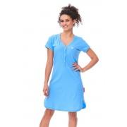 Lor női pamut hálóing, kék M