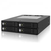 "Rack intern Icy Dock MB994SK-1B 4x 2.5"" SATA/SAS HDD & SDD Hot Swap Mobile Rack Cage"