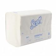 Kéztörlő interfold, Scott Xtra, Airflex, fehér 15 db/#