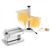Pastaset Siena pastamaker rvs & Verona pastadroger wit