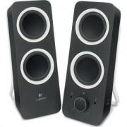 Тонколони Logitech Z200 Multimedia Speakers - Midnight black - 980-000810