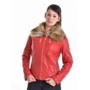 Mayo Chix női bőrdzseki ROSETTINA m2017-2Rosettina/piros